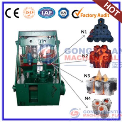 Briquetted machine for coal