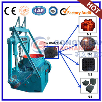 Shisha charcoal tablets press machine
