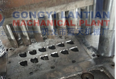 Mechanical shisha briquettes making machine