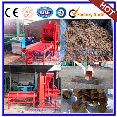 Wood sawdust briquettes machine
