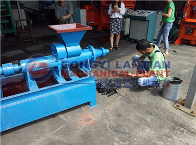 Coal stick extrude machine