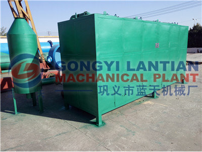 Air flow type hardwood charcoal kiln