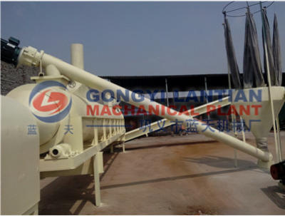 Rotary drum sawdust dryer