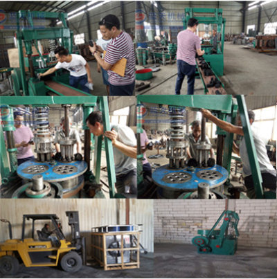 Charcoal briquettes machine in Kuwait